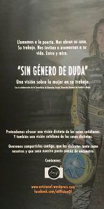 """Día internacional de la mujer. Exposición fotográfica """"Sin genero de dudas"""""""