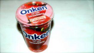 Yogur sin grasa sabor a fresa