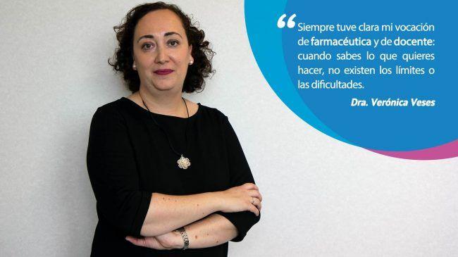 La profesora de Microbiología Verónica Veses