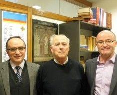 De izq. a derecha: Remigio Benyto, Vicente González, Vicent Gª Perales