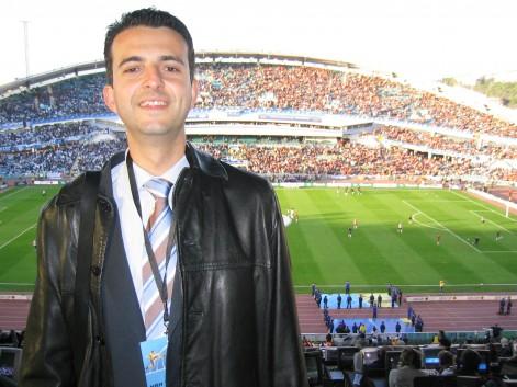Xavier Mercader, licenciado en Periodismo por la UCH-CEU