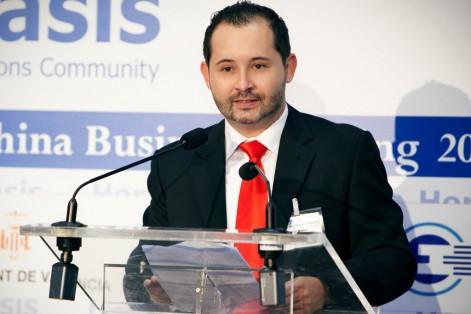 Iván Máñez, licenciado en Periodismo por la UCH-CEU, fundador y director de Global Asia