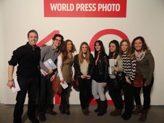 Estudiantes de la UCH-CEU en la World Press Photo