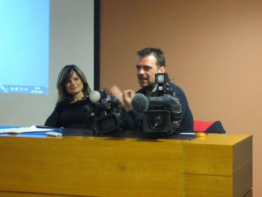 "Luis Granell ofreció en la UCH-CEU el punto de vista del cámara en ""Societat Anònima"""