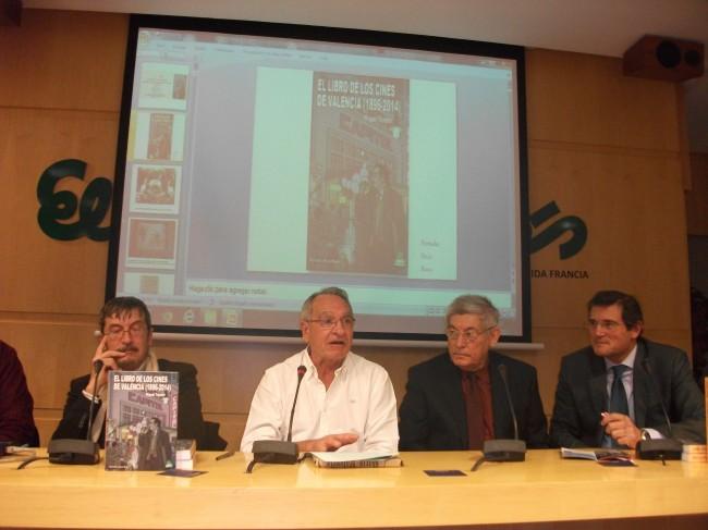 La presentación del libro ha reunido a cinéfilos e historiadores