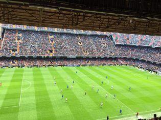 El Valencia CF se impuso al Getafe