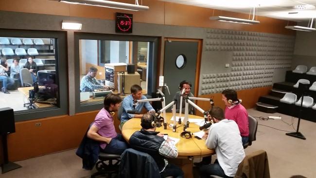 El equipo de COPE Valencia, con Albelda