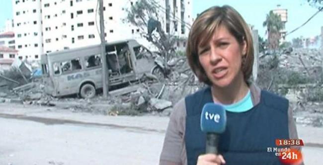 La dirección de informativos de TVE ha destituido a Yolanda Álvarez como corresponsal en Gaza