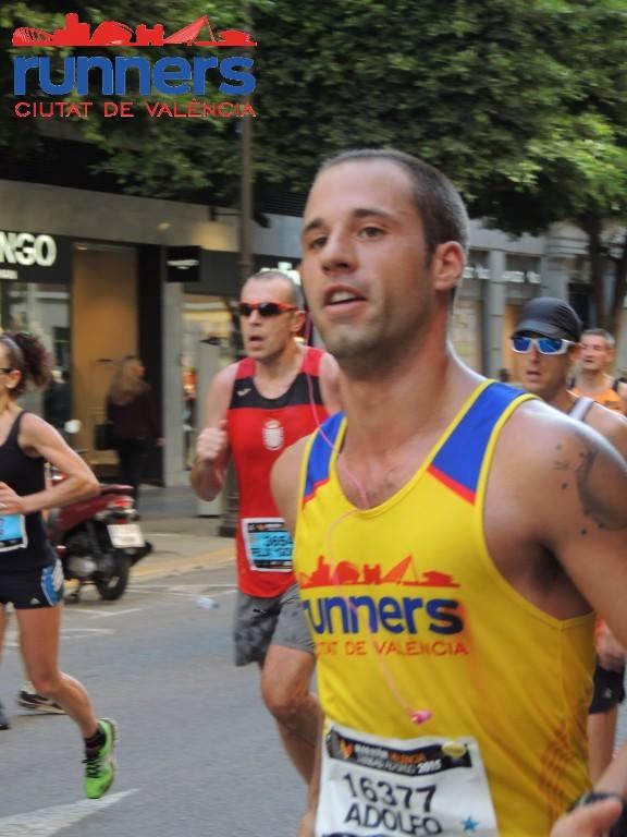 Adolfo ha preparado el maratón durante meses.