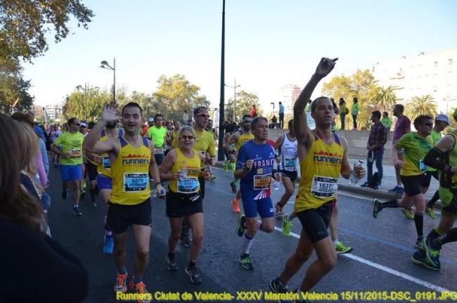 Correr es también disfrutar de los tuyos animando