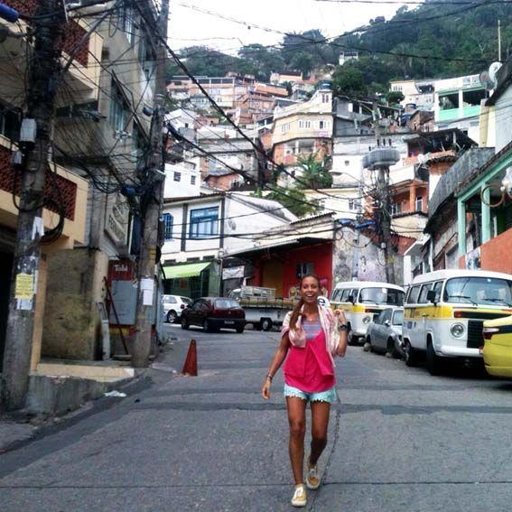 Río de Janeiro - favela Rocinha. La comunidad más grande de toda SudAmérica
