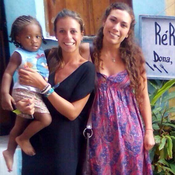 Salvador de Bahía – Andrea, la española que me acogió con los brazos abiertos. Ambas trabajábamos en el Consulado