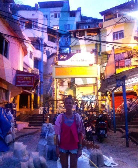 Río de Janeiro – Favela Santa Marta, conocida por ser la comunidad donde Michael Jackson grabó un de sus videoclips