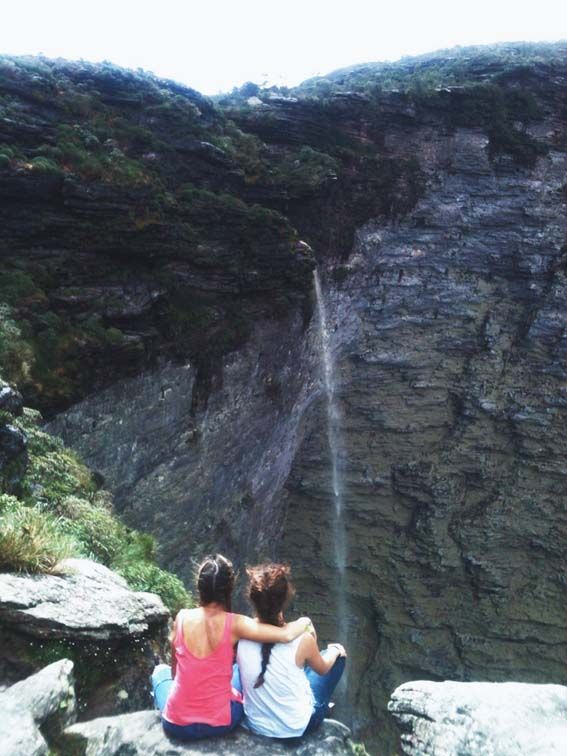 Chapada Diamantina – A 500km de Salvador, 8 horas en bus y 5 caminando, existe la cascada más alta de Brasil con 400m de caída libre.