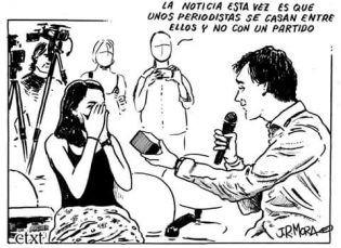 Viñeta de J.R. Mora.