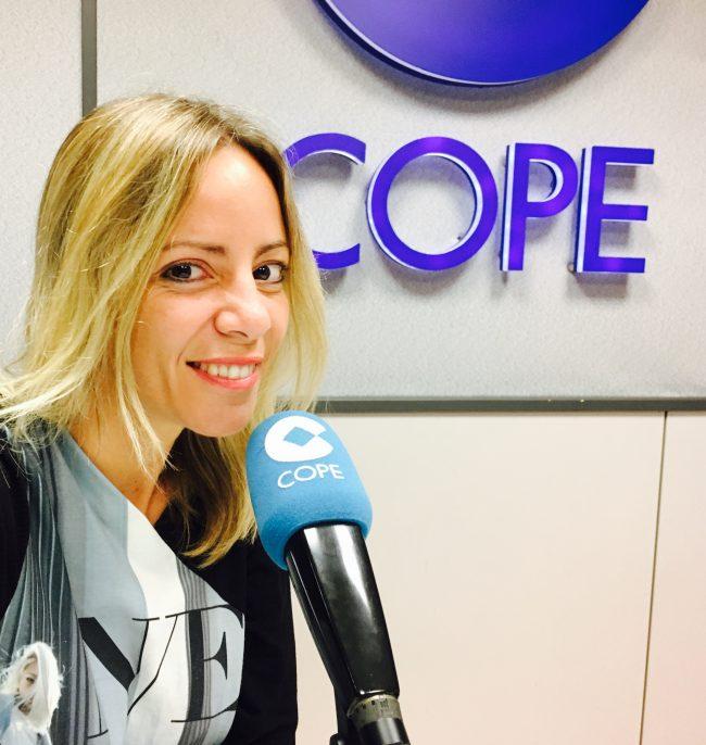 Isabel Moreno, subdirectora de Informativos de COPE-CV