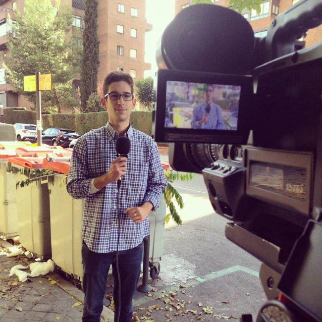 A Josep Camacho le apasiona el Periodismo en televisión