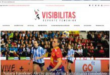 Visibilitas Deporte Femenino, diario del deporte femenino de alto rendimiento
