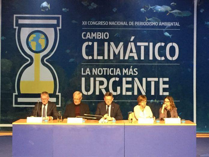 Estudiantes de Periodismo de la CEU-UCH asistieron al Congreso de Periodismo Ambiental.