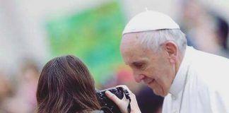 Cada miércoles, Lucía estaba muy cerca del Papa