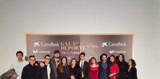 Estudiantes y profesores de Periodismo de la UCHCEU asistieron a la III Gala de Yo Soy Noticia.
