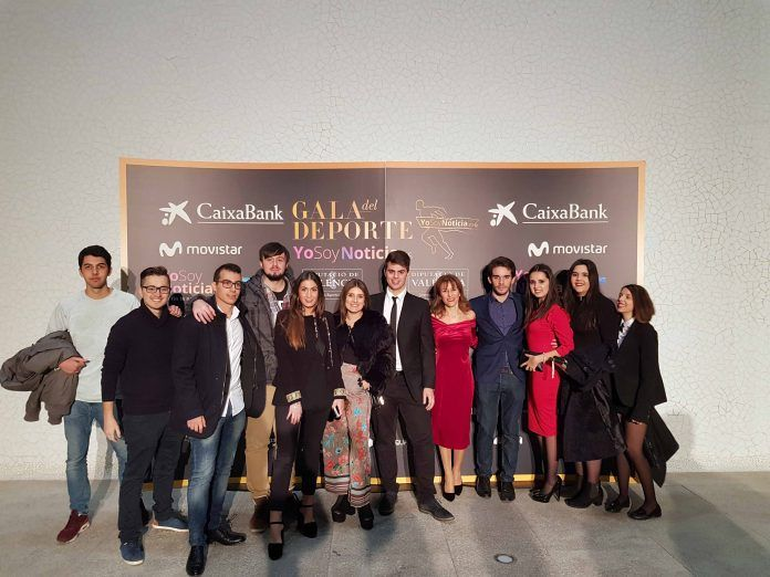 Estudiantes y profesores de Periodismo de la UCH-CEU asistieron a la III Gala de Yo Soy Noticia.