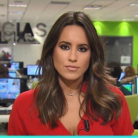 La ex alumna Marina Valdés realizó sus prácticas de verano en Antena 3.