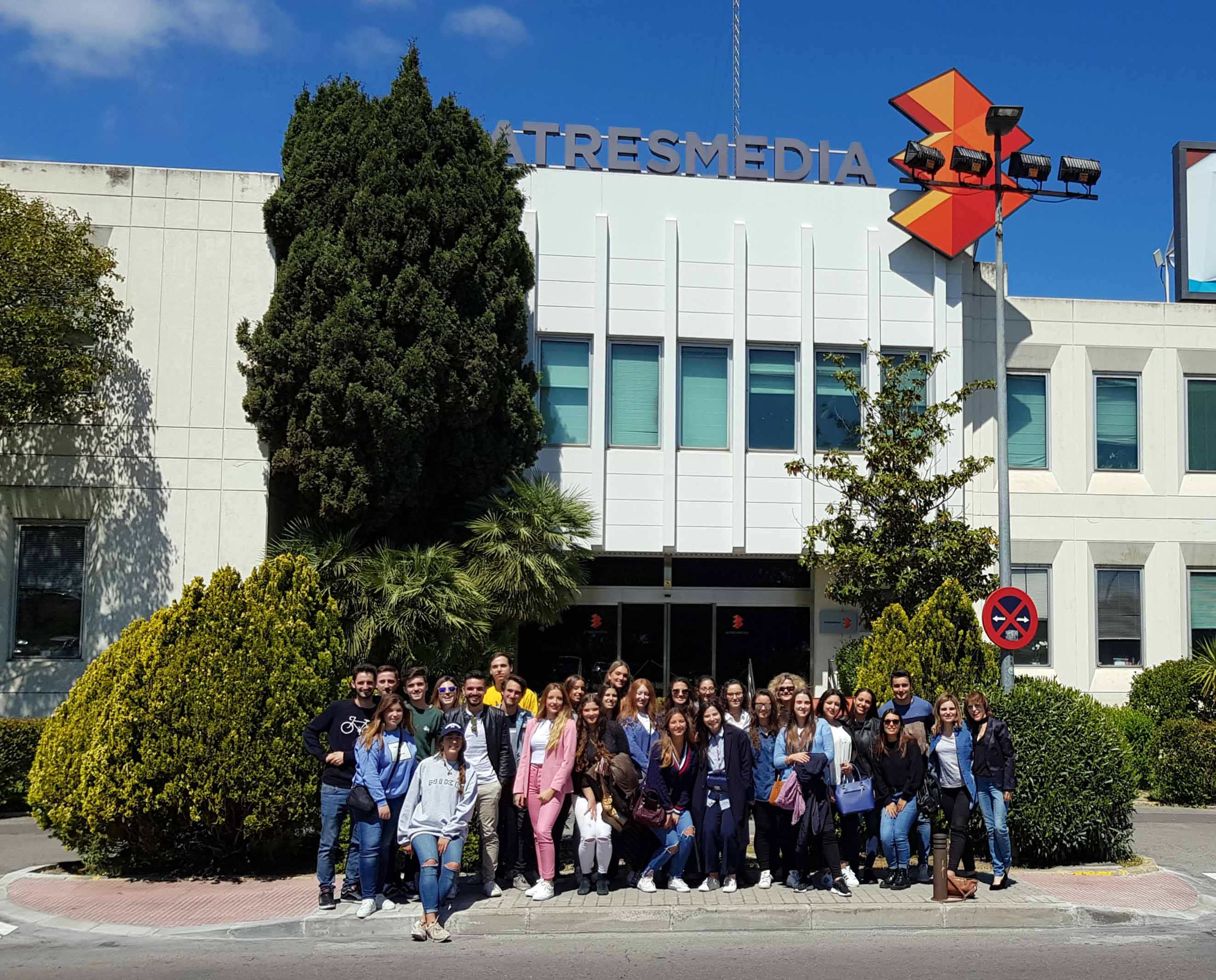 Visita a medios en Madrid