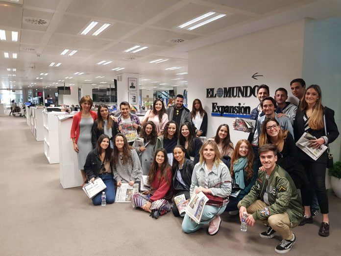 En la visita a medios en Madrid no faltó Unidad Editorial.