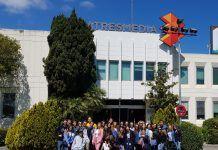 Estudiantes de Periodismo de la UCH visitan el grupo Atresmedia
