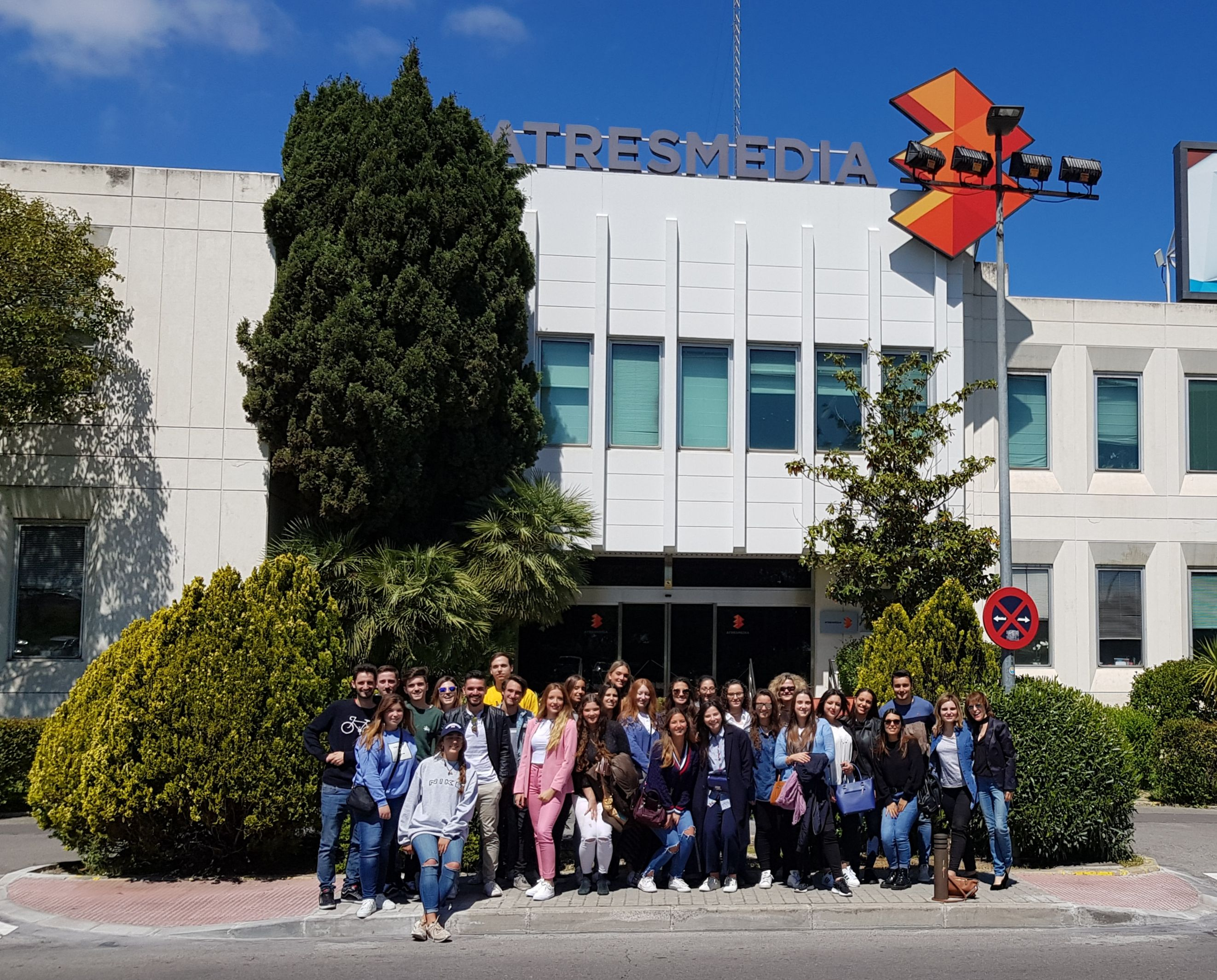 Estudiantes de Periodismo de la UCH visitan distintos medios del grupo Atresmedia
