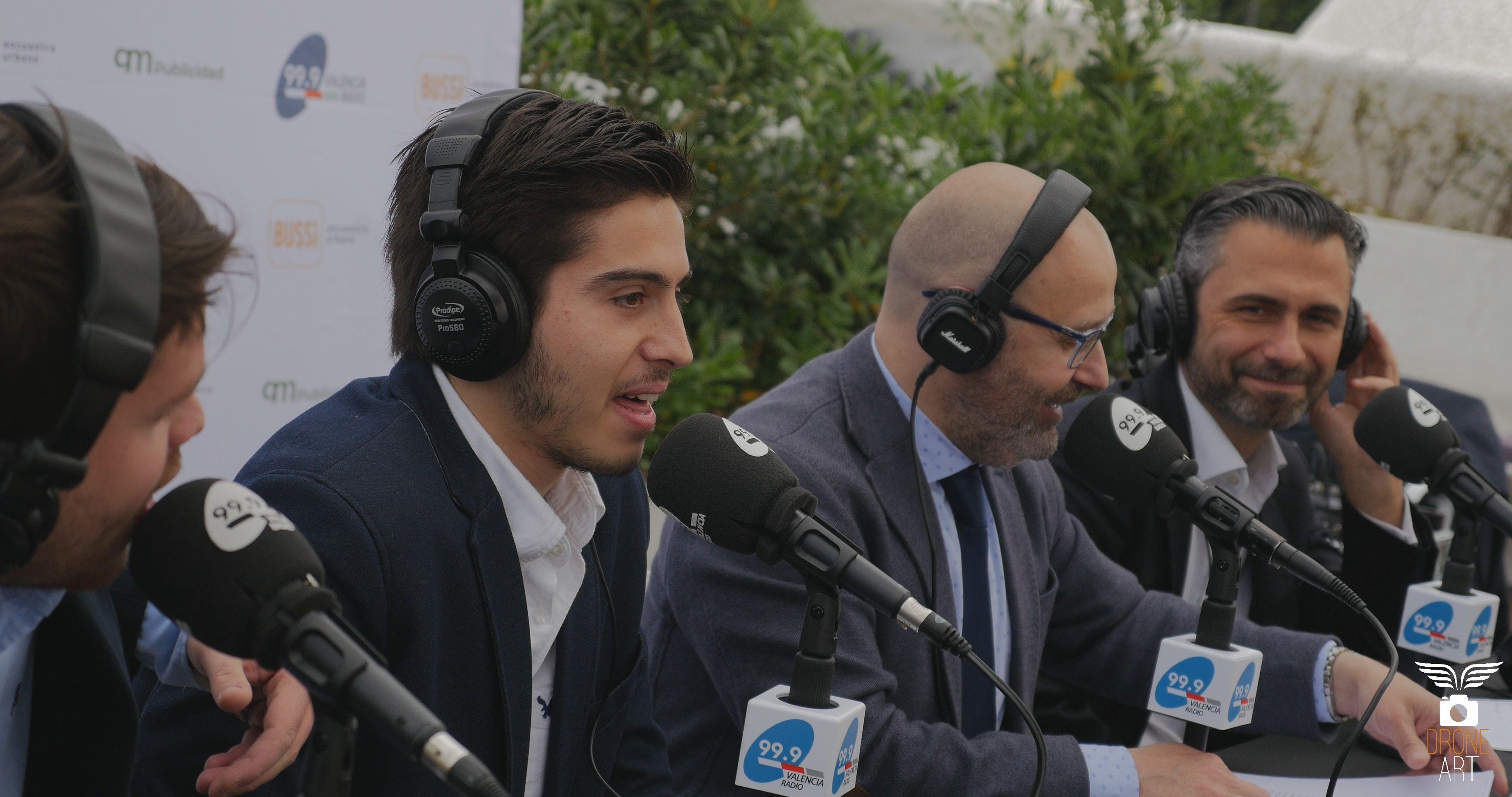 Fernando Ortega ha sido siempre un apasionado de la radio.