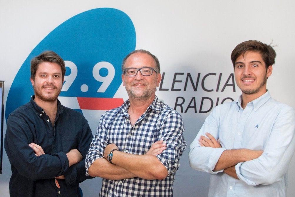 Fernando Ortega hizo prácticas en la 99.9 Valencia Radio y en la extinta Radio 9.