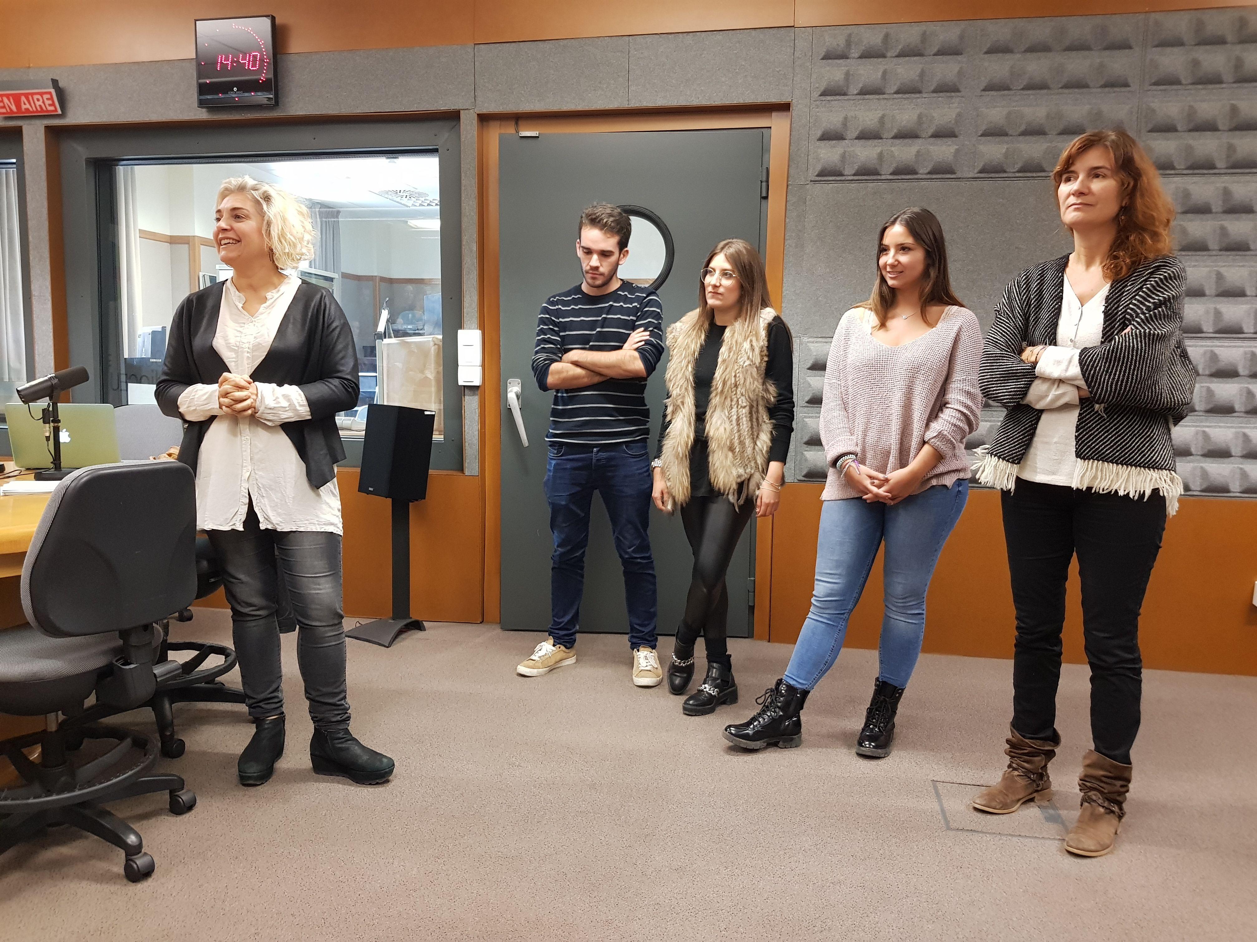 Los responsables de RadioCEU han explicado la nueva programación.