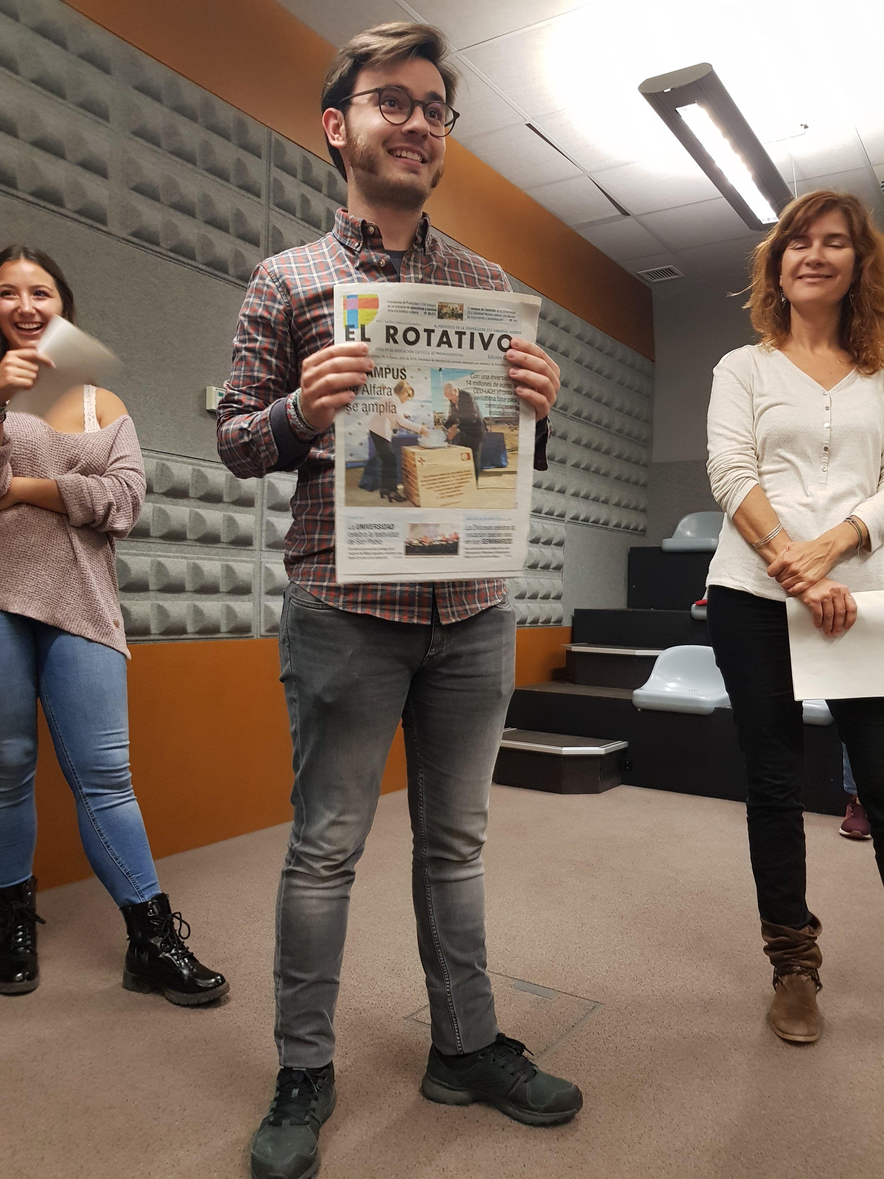 Jaime Roch e Ivana Villar han explicado cómo participar en El Rotativo.