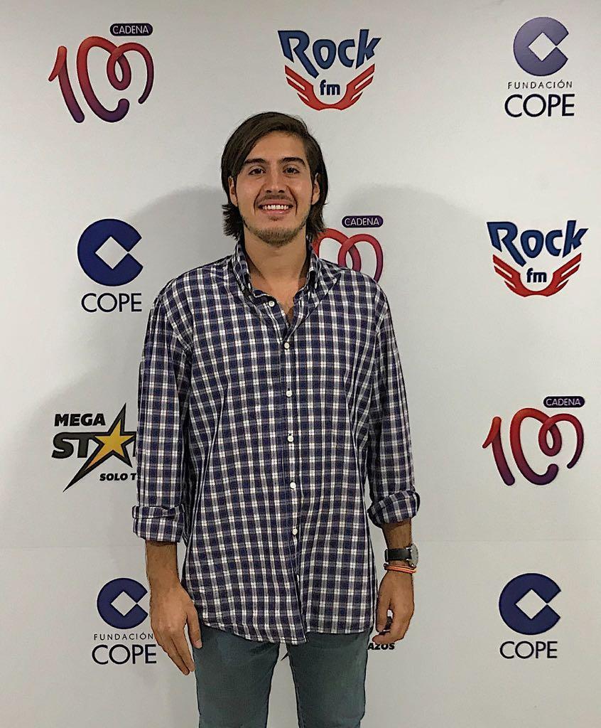 Fernando Ortega ha comenzado recientemente un máster de especialización en radio.