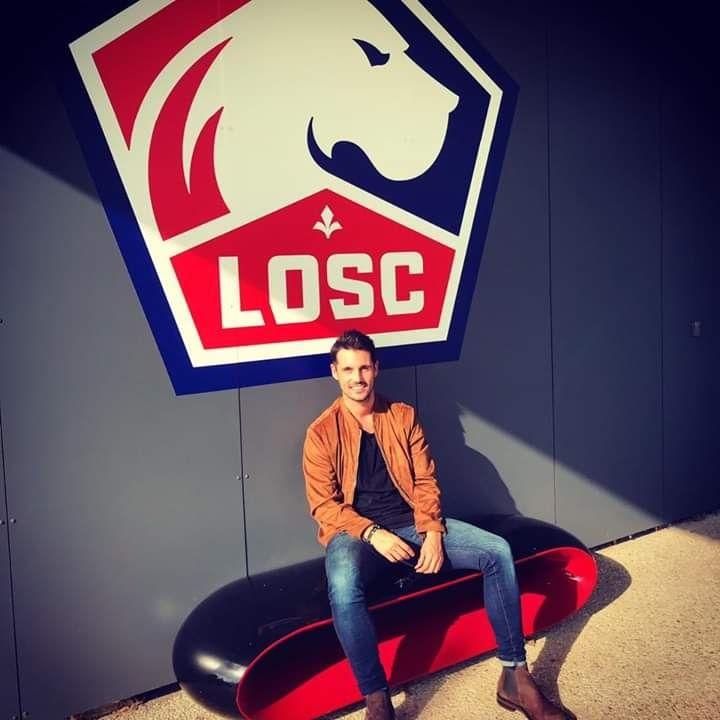 El antiguo alumno de Periodismo Diego López, scout del LOSC Lille