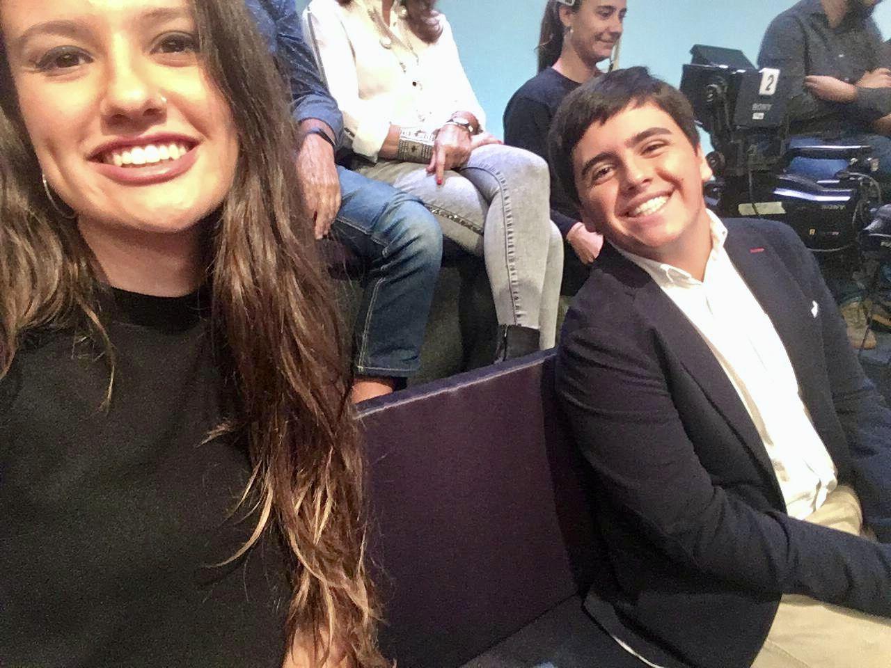 Ramón y Nuria participaron en La Qüestió (À Punt) del 5 de octubre.