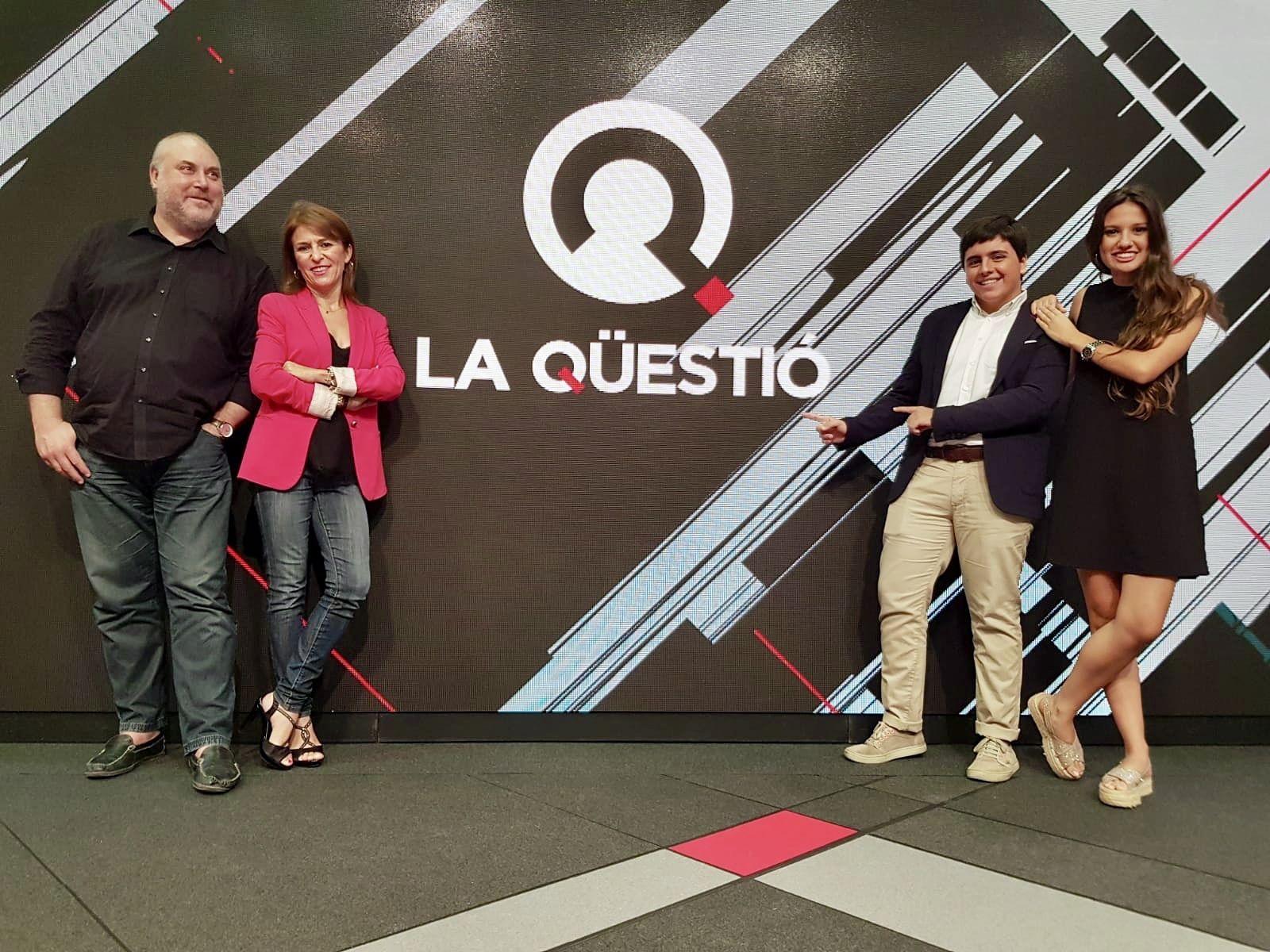 El Vicedecano de Comunicación Audiovisual y la Vicedecana de Periodismo asistieron como público al programa.