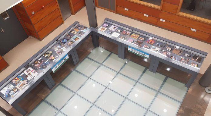 Exposición de vinilos de Onda Cero Valencia