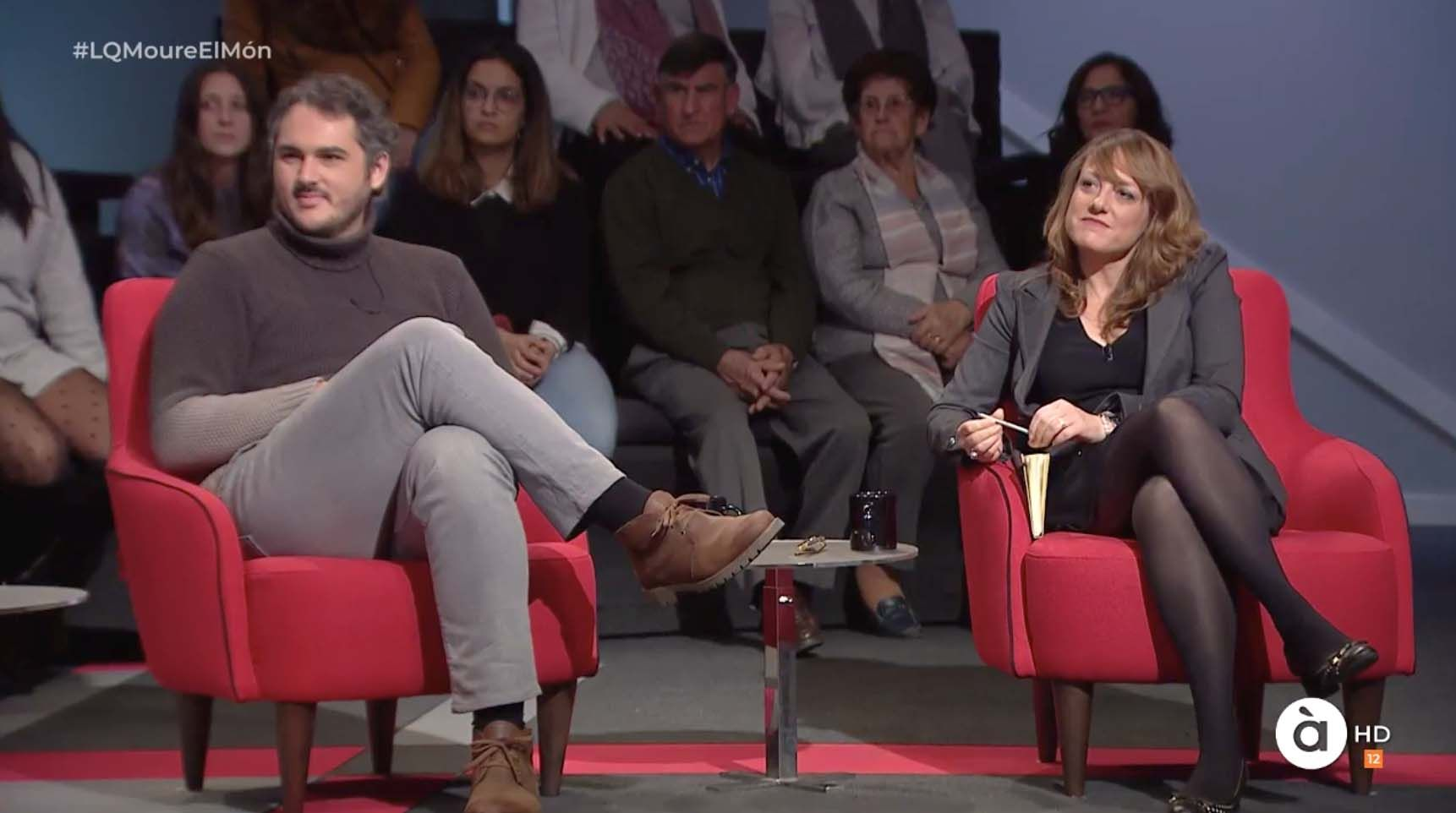 Andreu Escrivà y Maria José Picó participaron en La Qüestió sobre la energía.