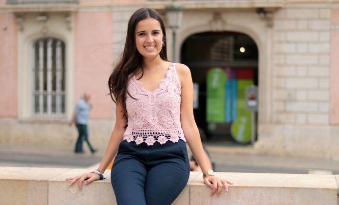 Estudiante en el Palacio de Colomina