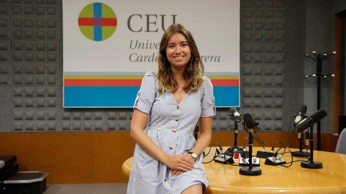 Estudiante Erasmus en la facultad de Periodismo del CEU