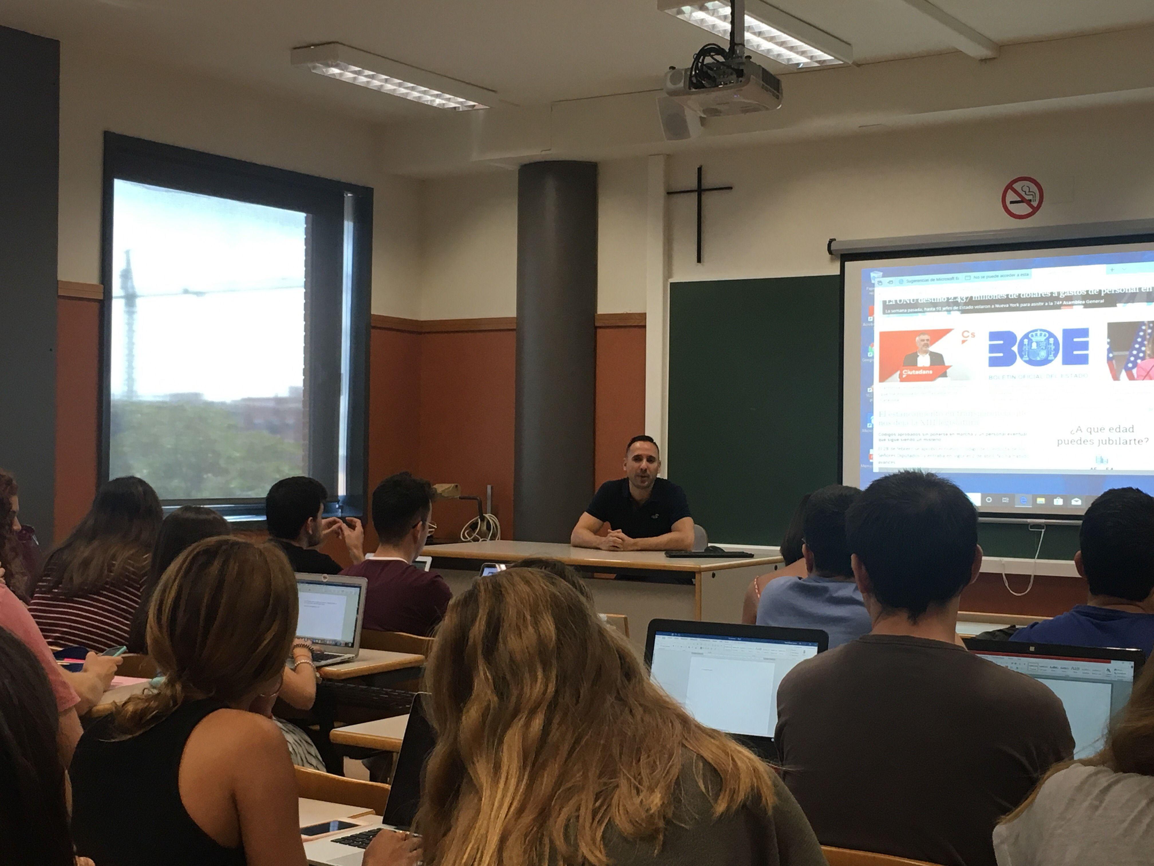 Carles Torrijos en UCH-CEU