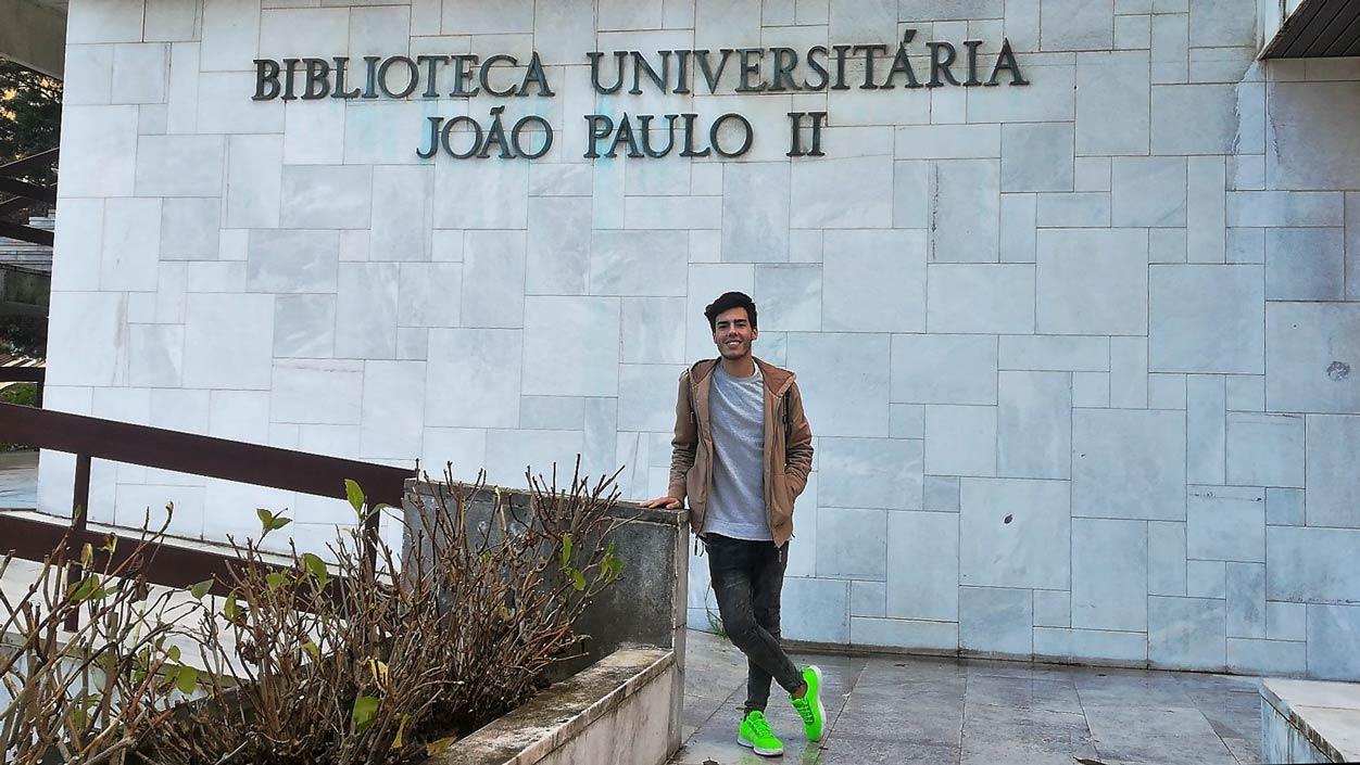Erasmus student in Lisbon