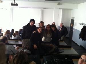 Alumnos de Publicidad y Comunicación Audiovisual en Amberes