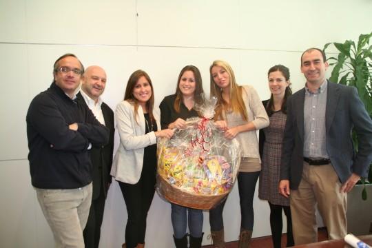 Las alumnas de la Universidad CEU Cardenal Herrera ganan el concurso de Campofrio