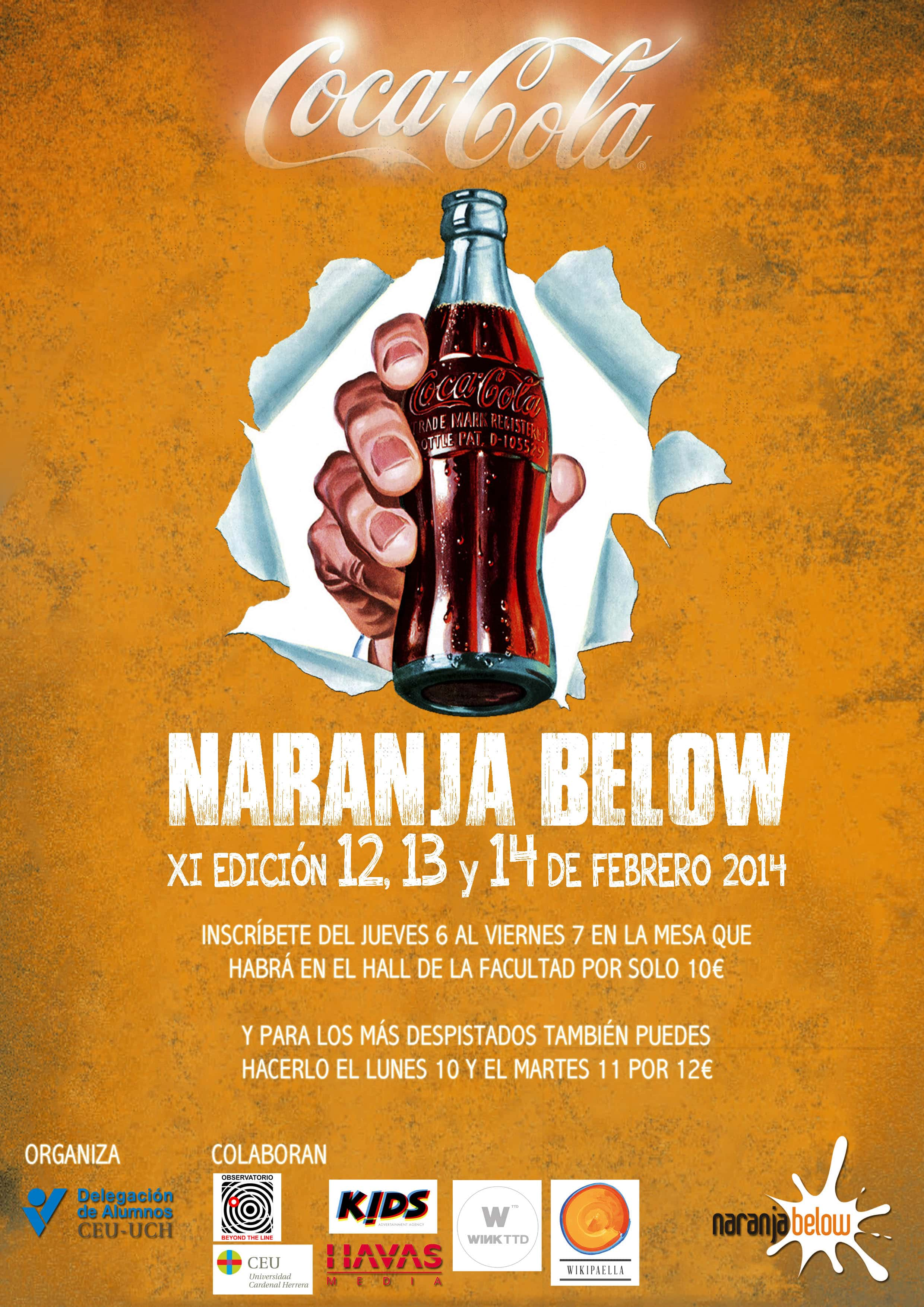 Naranja Below 2014