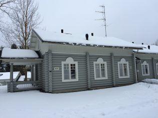 Cabañas del IP en Lomasaari, Virrat (Finlandia)