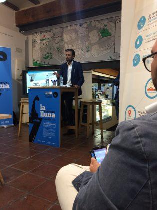 Vicente Vañó, el Director General de Comunitad, presentado al sector la 7ª edición del Festival